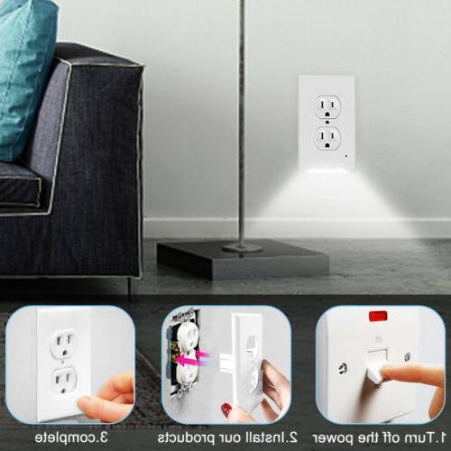 Socket US Plugs & Porch Lights AC110V
