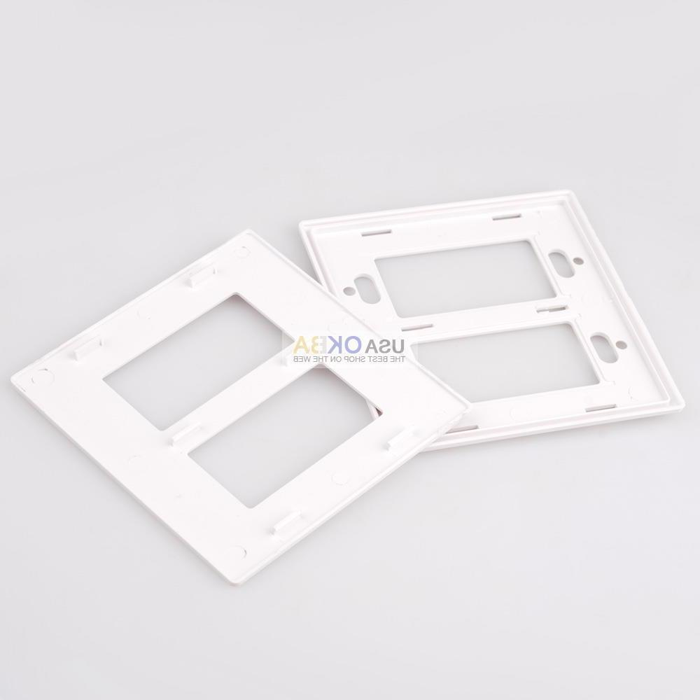 1-4 Gang Plate Decorator Switch Outlet