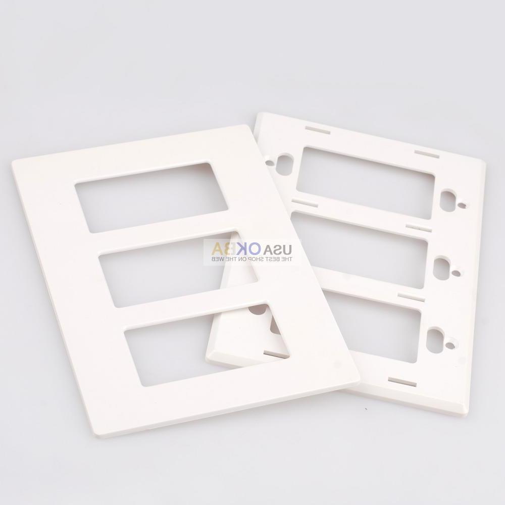 1-4 Plate Rocker Switch Outlet