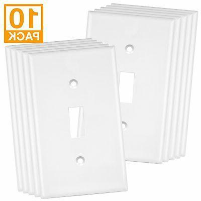 1 gang toggle switch wall plate standard