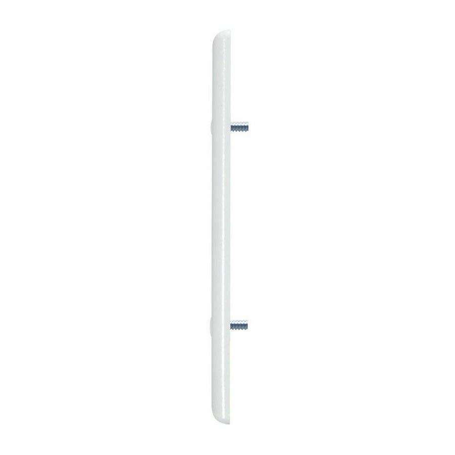 1-Gang White Pack Plastic Light Cover