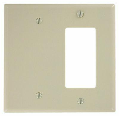 1 pc 2 gang wall plate cover