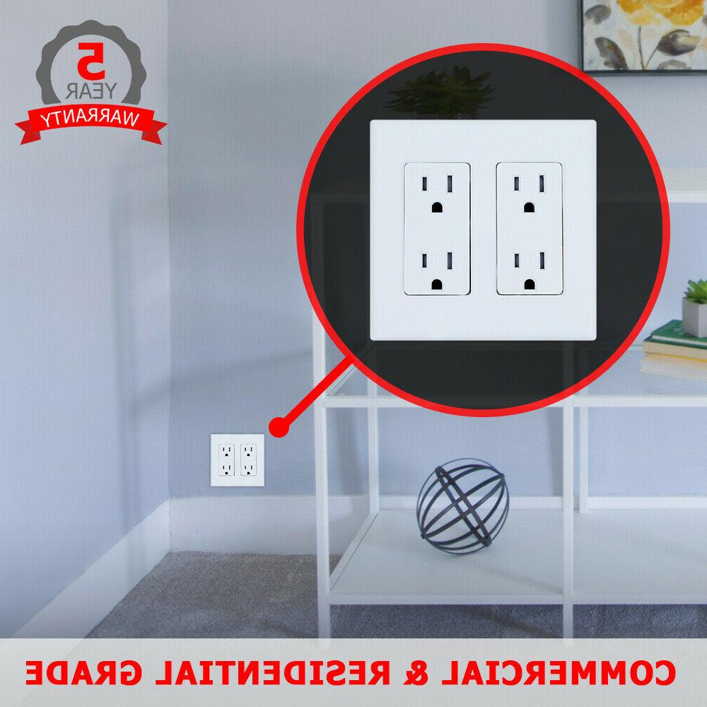 10 Wall Plate for Switches and Outlets - Decorator