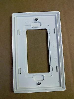 NEW Screwless Wall plate GFCI Cover White plate