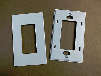 Screwless plate Cover White Snap