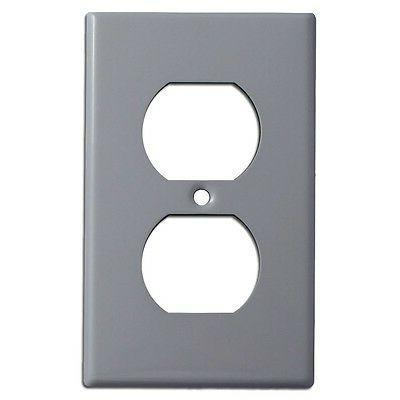 10 pc standard duplex receptacle 1 gang