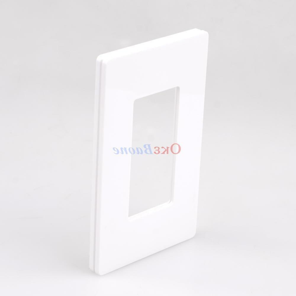 10 Switch Cover Wall Plate Rocker Plastic