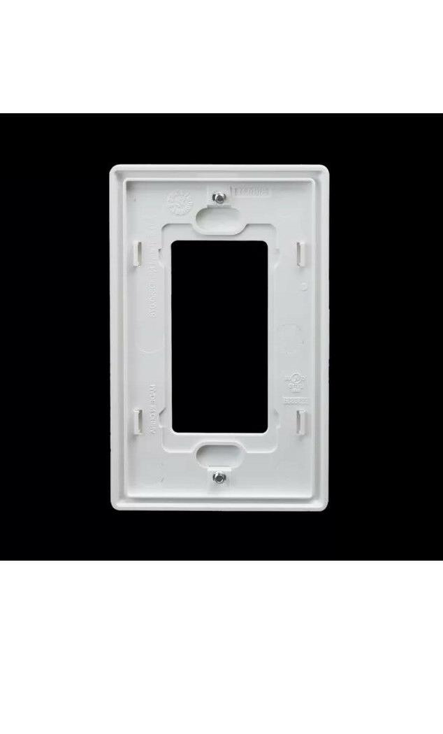10PCS 1 Gang Wall Plate Rocker
