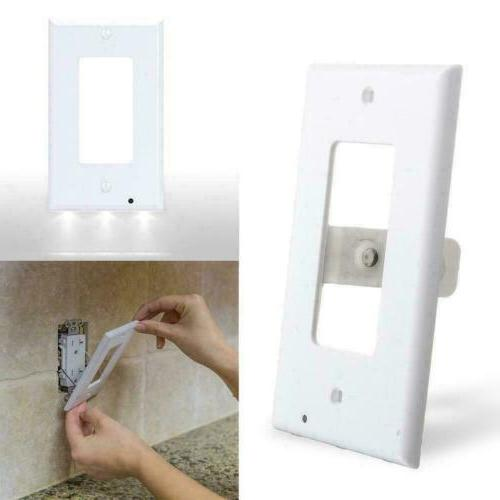 10Pcs Duplex Electrical Outlet Wall LED Night Light