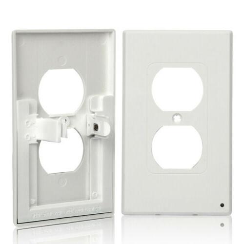 10Pcs Outlet Led Light Guidelight Built Sensor