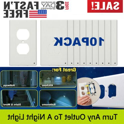 10x wall duplex outlet cover plate
