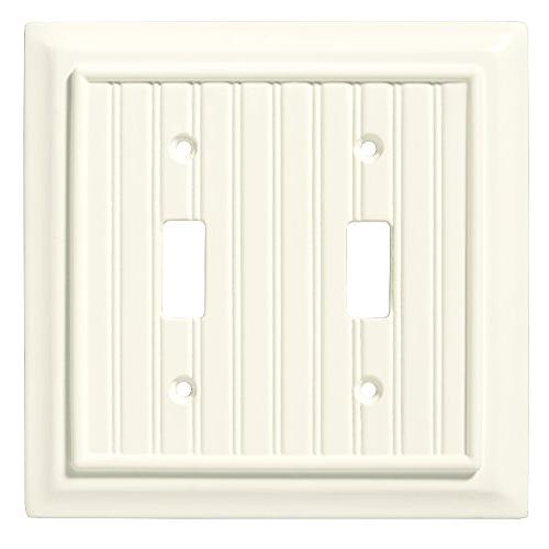 Liberty Hardware 126359 Toggle Switch Beadboard Wall Plate S