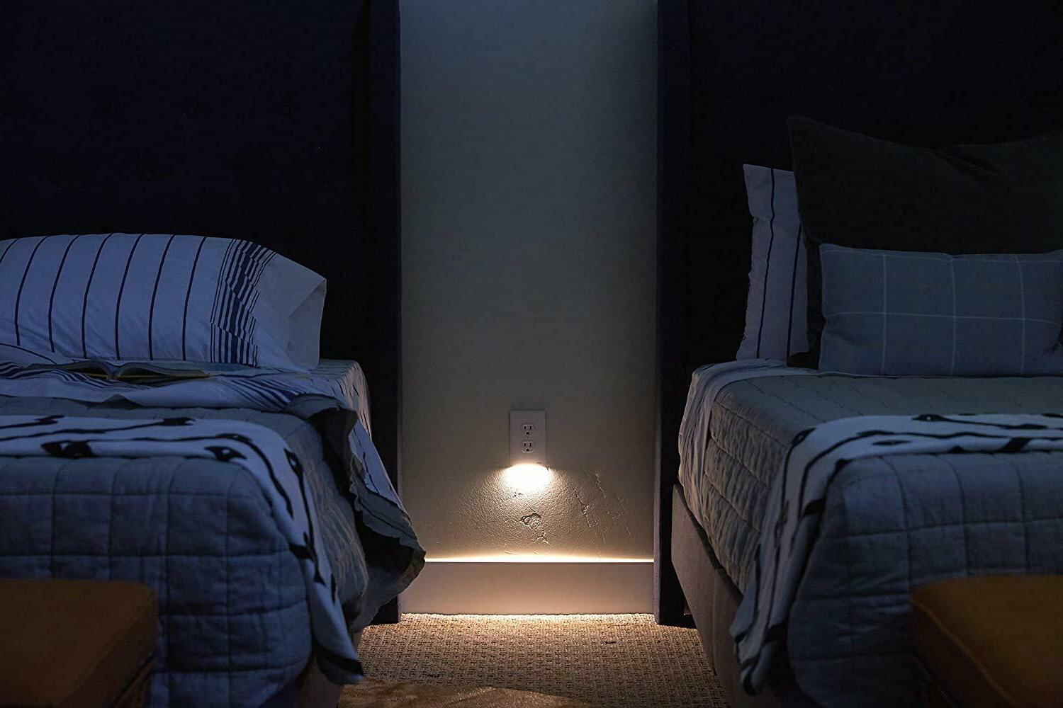 2/3//5/10/20Pcs Duplex Electrical Outlet Wall LED Night Light