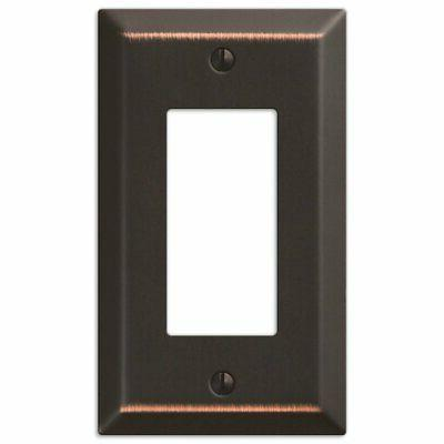 2-Pack Rocker GFCI Switch Toggle Wall Oil Rubbed Bronze