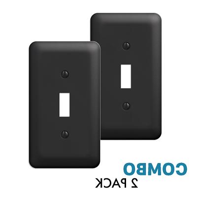 2 pack toggle light switch wall plate