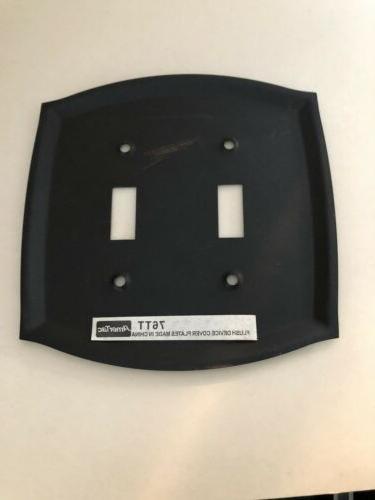 Amertac Bronze Steel Wall-plate