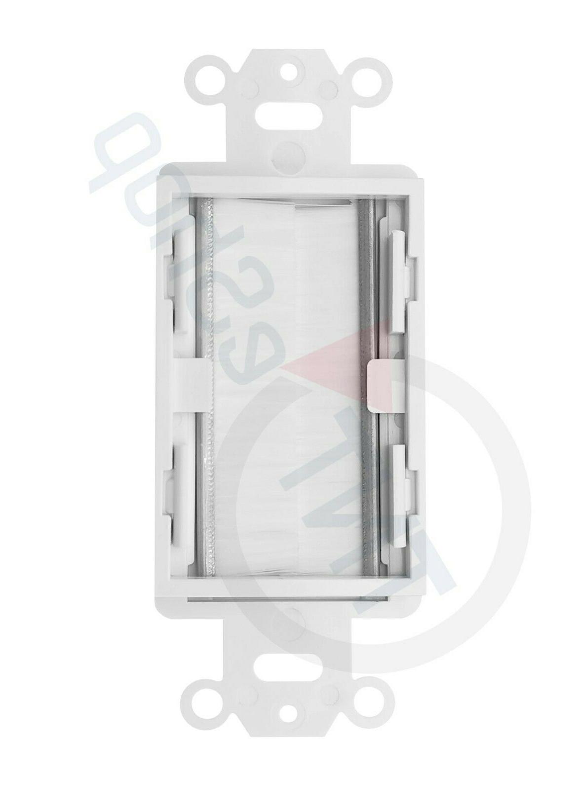 TNT Wall Plate - White 10 Pack