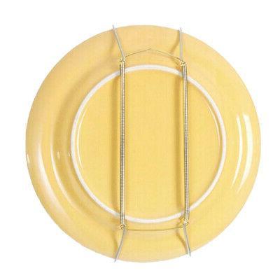 2x Heavy Wall Plate Hooks w/ Flexible Spring f/ Plates