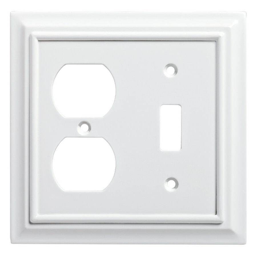 Brainerd 64544 Wood Architectural Single Toggle Switch/Duple