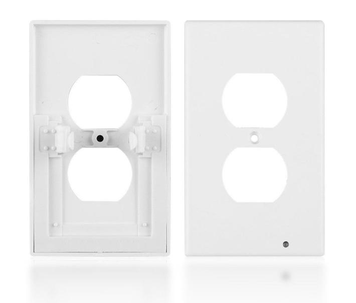 5 - Pack wall plate night Covers Sensor Automatic