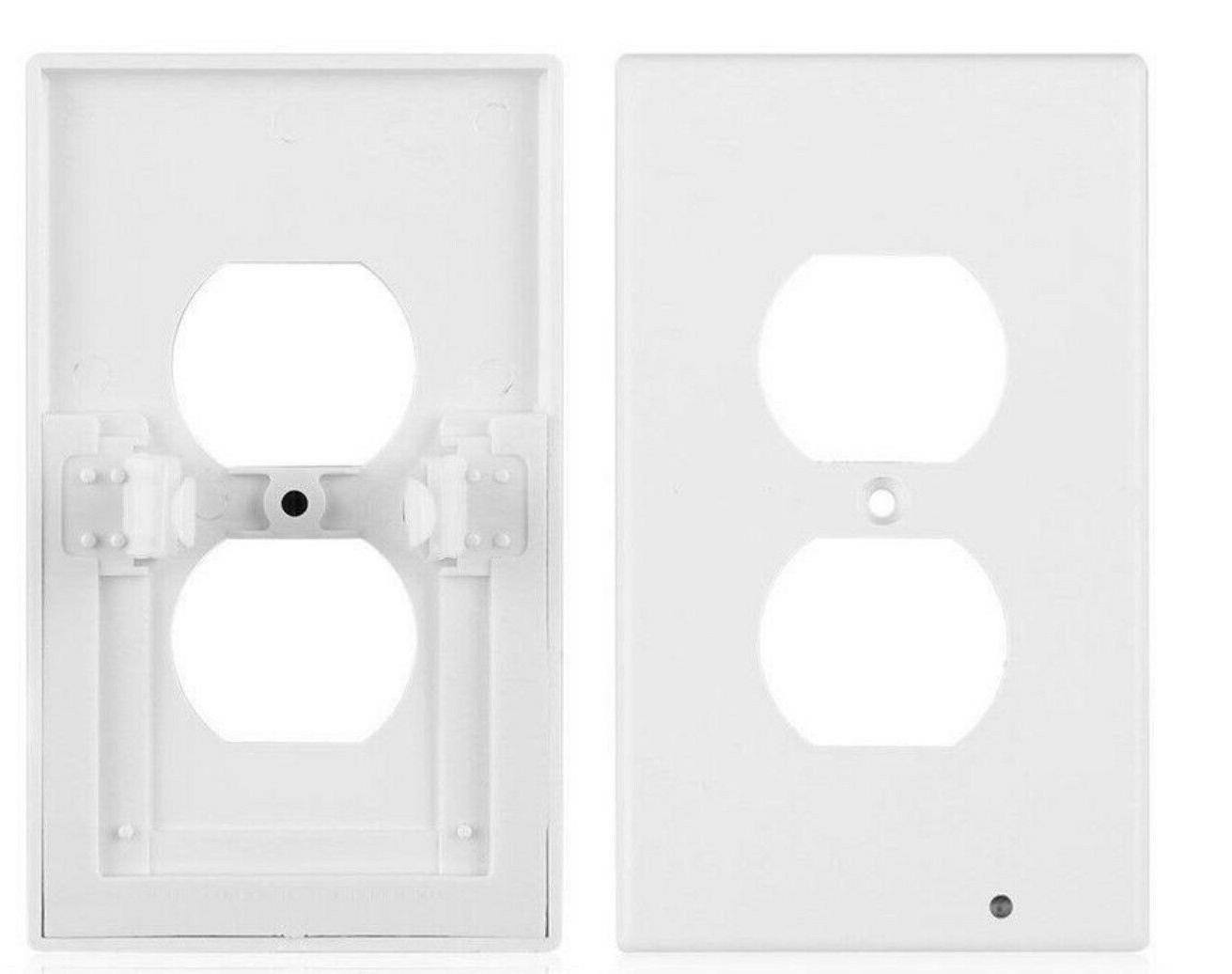 2x Wall Led Cover Duplex With Light Sensor