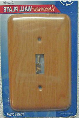 4 Decorator Wood and Metal Switch