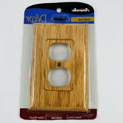 4025d traditional light oak wood wall plate