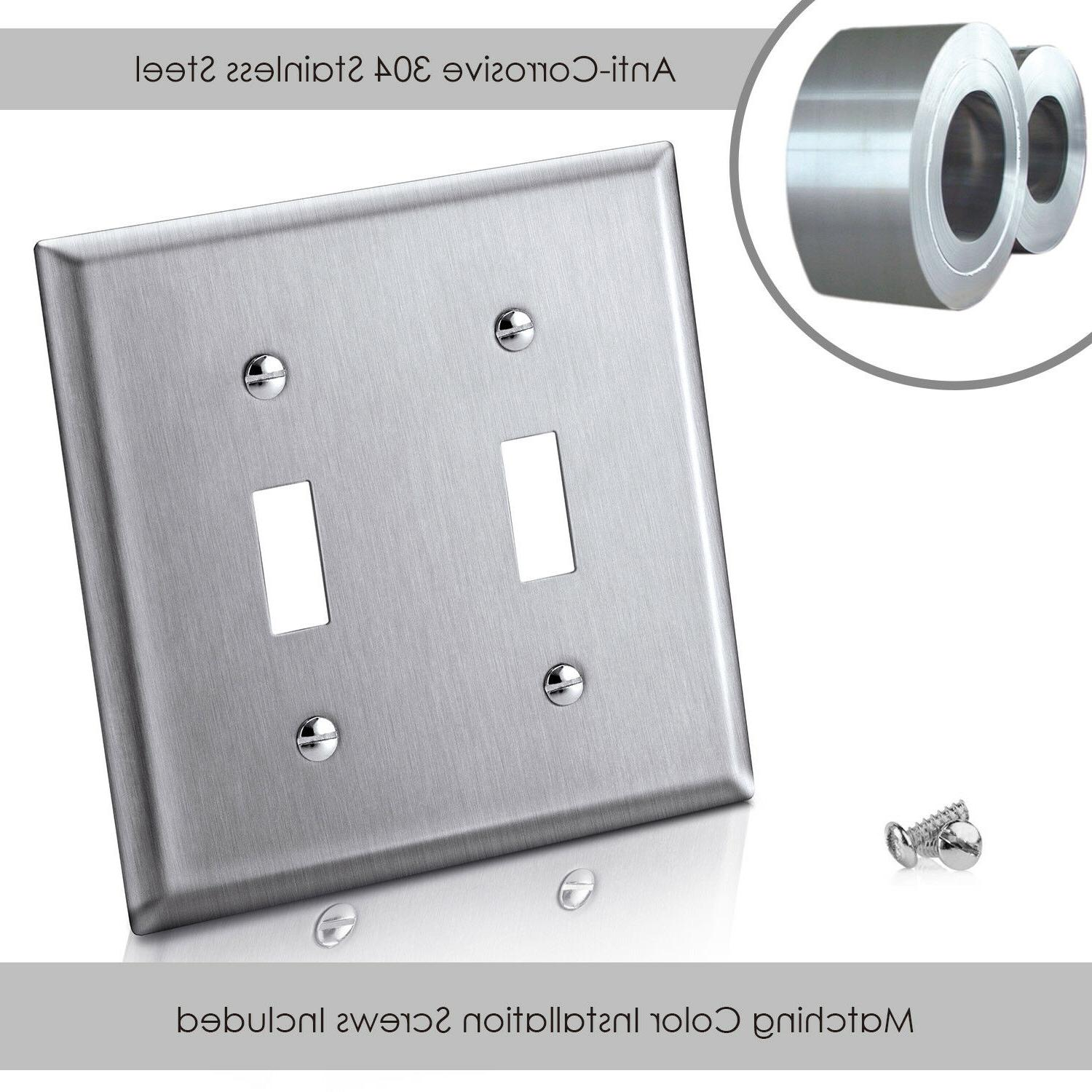 5 Stainless Switch Double Electrical