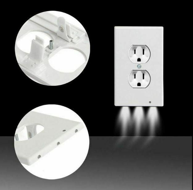 5 PCS Plate Outlet LED Light
