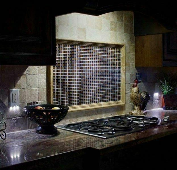 5 PCS Duplex Plate Outlet with LED Lights Light
