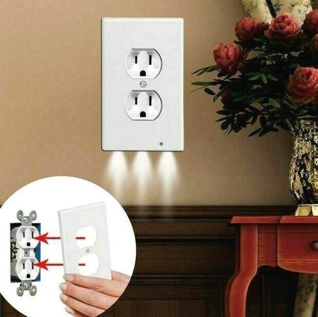 5 pcs duplex wall plate outlet cover