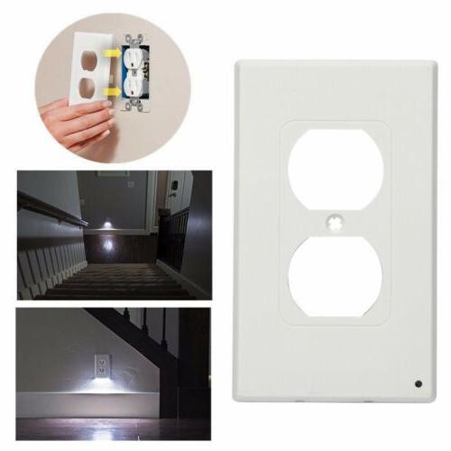 10x Wall Cover Plate With Night Light Hallway