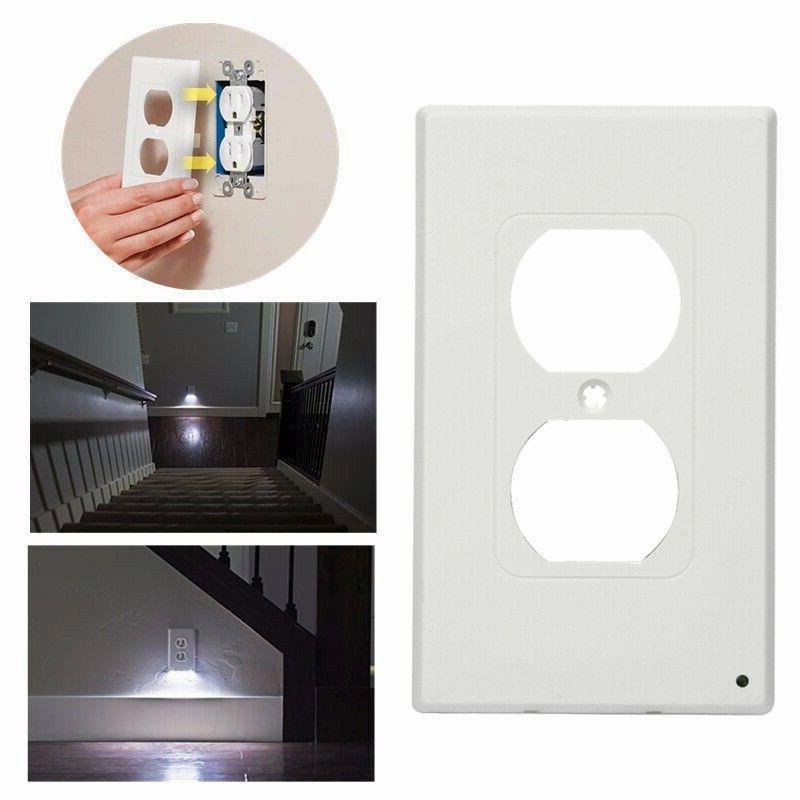 Pack 5 Outlet Wall Plate Led Night Light Ambient Light