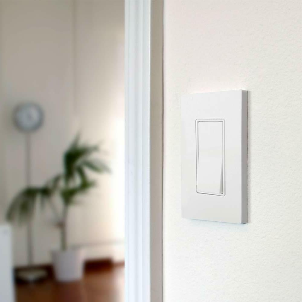50PK Wall Plate Switch Outlet 1-Gang