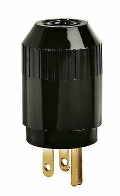 Bryant Electric 5266B Industrial Grade Straight Blade Plug,