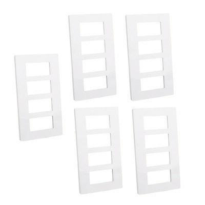 5PCS/10PCS Gang Decorator Outlet Plate Rocker Switch Cover