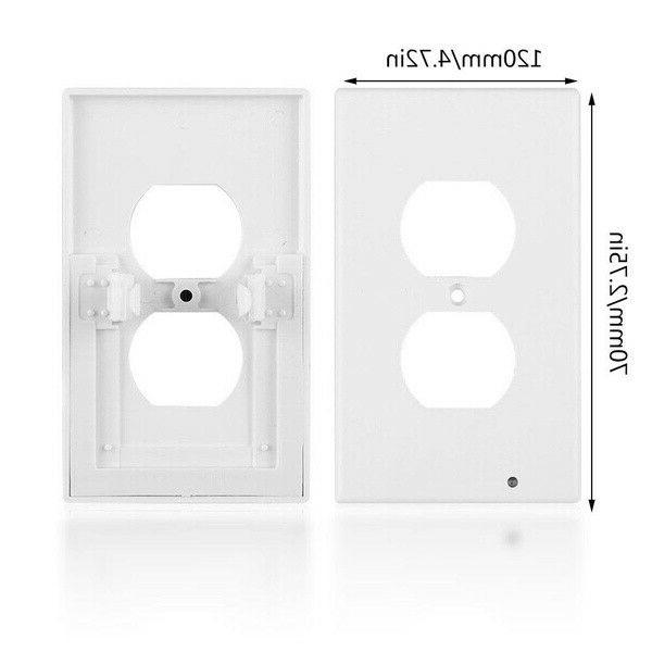5Pcs Wall Plate With LED Night Lights High-quality