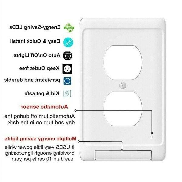 5Pcs Wall Plate With Night High-quality