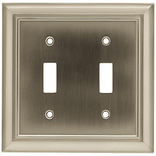 BRAINERD Architectural Double Switch Plate Switch / by