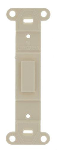 Leviton 80700-T Toggle Plastic adapter plate, Blank Toggle N