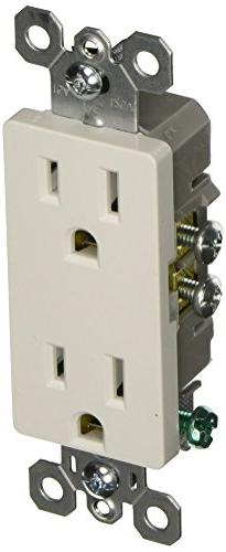 Legrand - Pass & Seymour radiant 885WCP8 15 Amp Duplex Outle