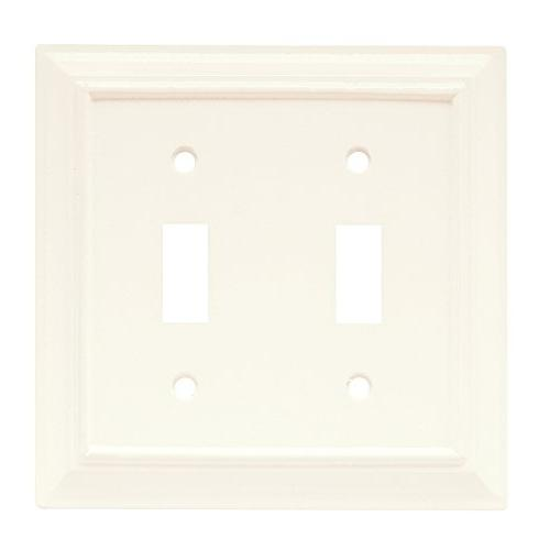 Brainerd #126334 - 4 Pack - Double Switch Wood Architectural
