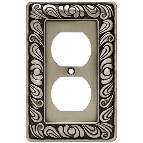 Brainerd - 5 Pack Paisley Collection, Brushed Pewter