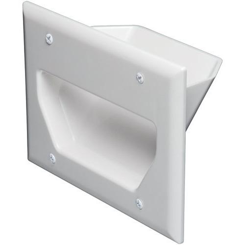 DataComm Electronics 45-0003-WH 3-Gang Recessed Low Voltage
