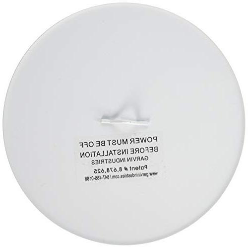 Garvin Blank-Up Cover Steel, White