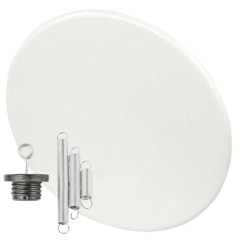 Garvin CBC-800 Recessed Blank-Up Cover Plate, 8-Inch Diamete