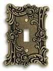AmerTac 60TAB Amerelle Provincial 1 Toggle Wallplate Antique