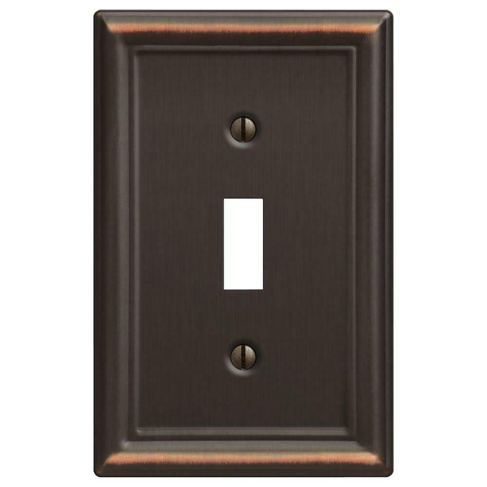 ascher 1 toggle wall plate