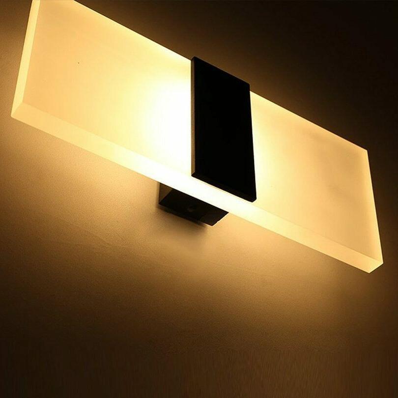 Bedroom Wall Lamps Modern Led Light Bulb Room Elegant