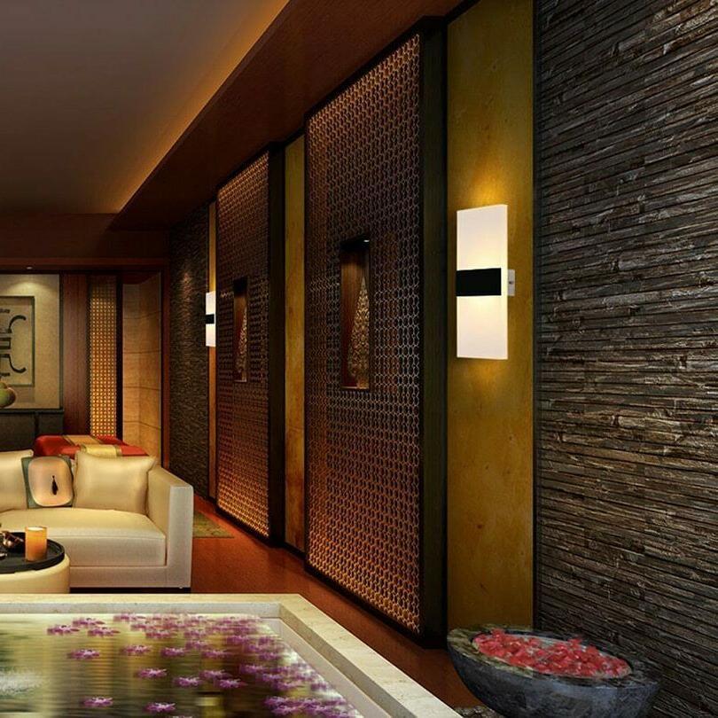 Bedroom Wall Lamps Modern Led Bulb Room Elegant